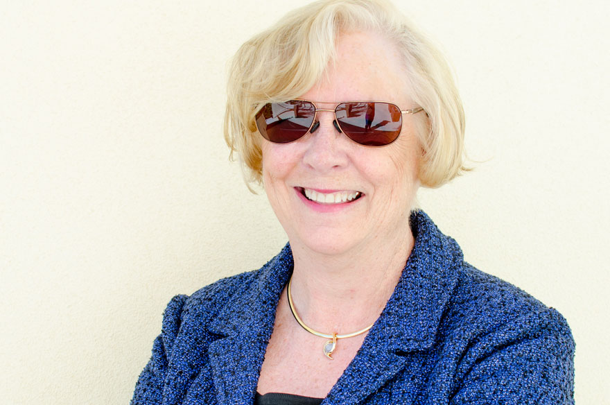 sue ann baker in shades
